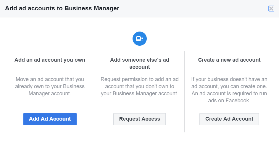 Add Facebook Ad Account