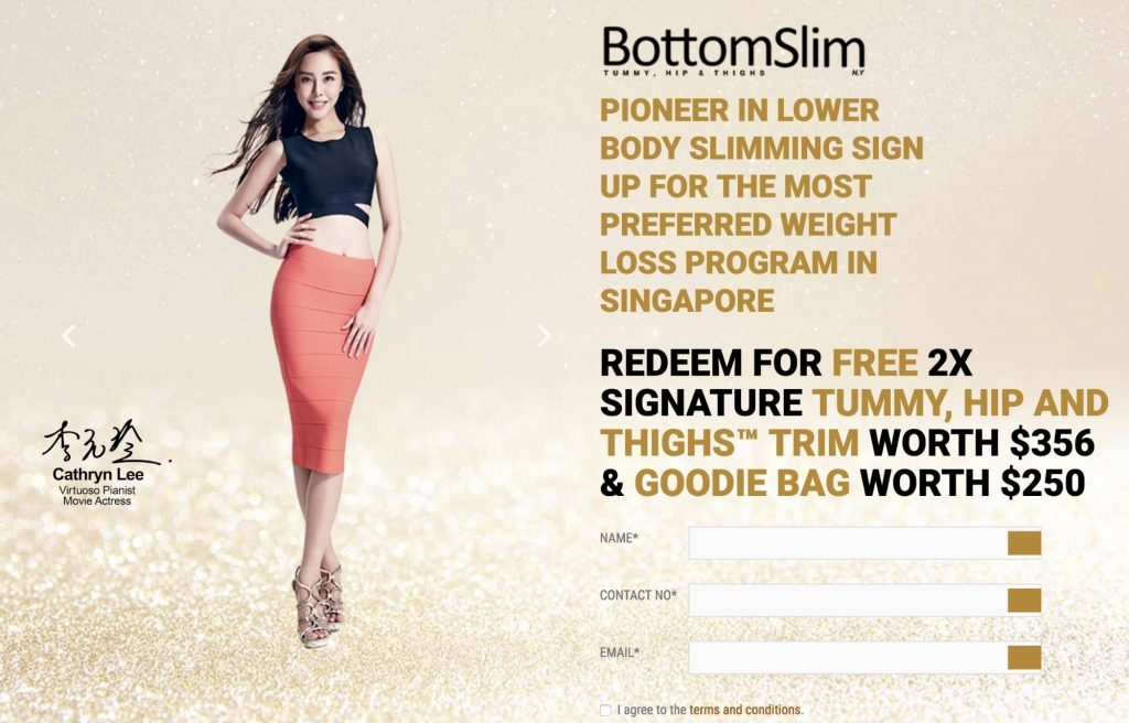 BottomSlim Outrageous Offer Example