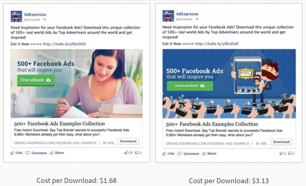Facebook Ad Image Human Faces Example AdEspresso