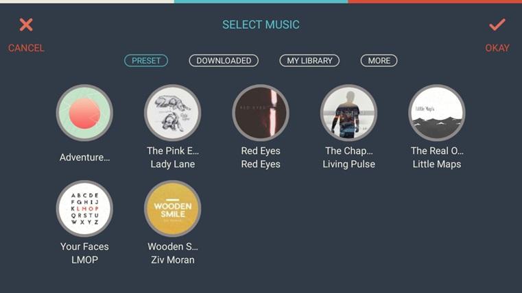 FilmoraGo Add Music 2