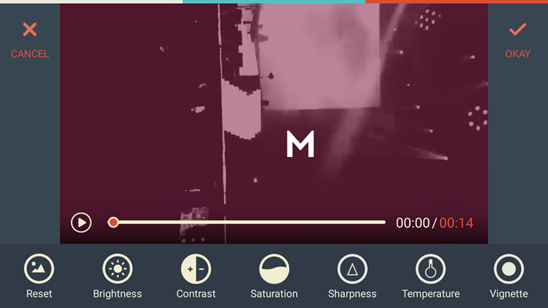 FilmoraGo Adjust Video 2