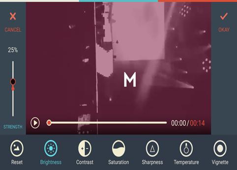 FilmoraGo Adjust Video 3