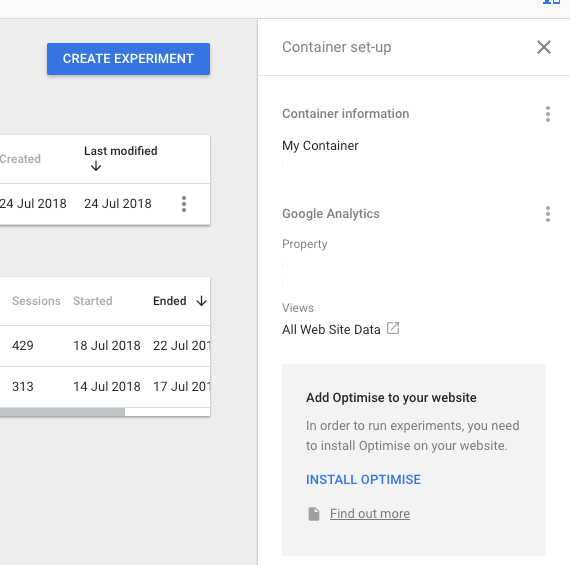 Google Optimize Add Optimize Script