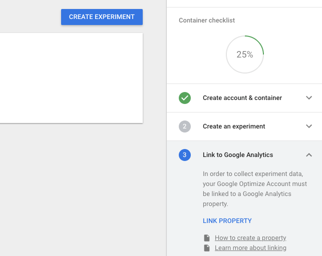 Link Google Optimize To Google Analytics