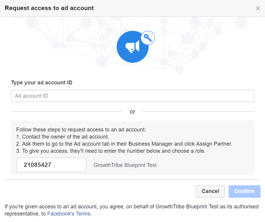 Request Access To Existing Facebook Ad Account 1
