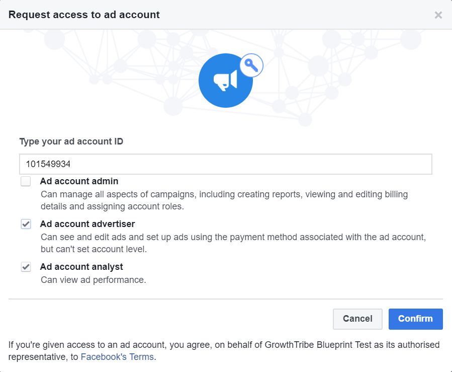 Request Access To Existing Facebook Ad Account 2