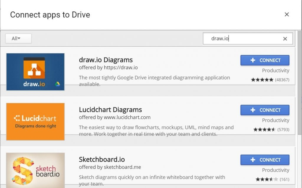 how to connect google drive app in win10