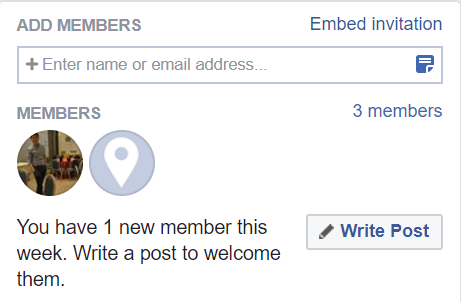 Facebook Group Add Members