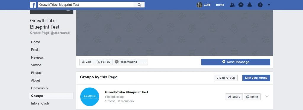 Groups Tab On Facebook Page