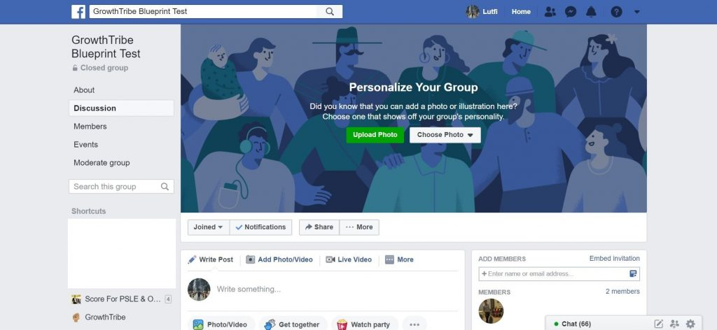 New Facebook Group Created